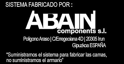 Camas abatibles online es un producto de Abain components S.L